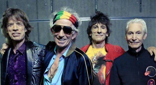 Os Rolling Stones adiaram a nova turnê