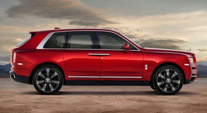 Rolls Royce Cullinan tem IPVA mais caro entre os utilitários