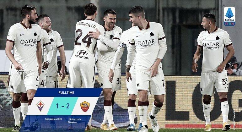 Fiorentina 1 X 2 Roma