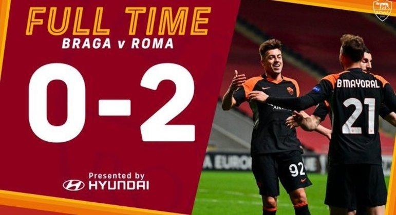 Roma, um resultado excelente na viagem a Portugal