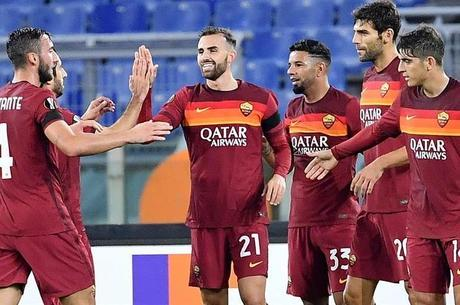 Borja Mayoral marcou dois gols para Roma
