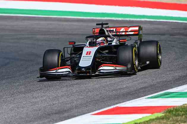 Romain Grosjean andou de maneira forte na classificação em Mugello e passou pra o Q2