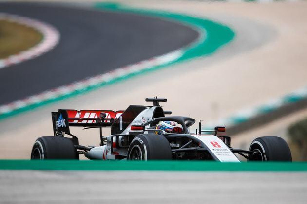Romain Grosjean chegou a ser punido no GP de Portugal e ficou apenas em 16º