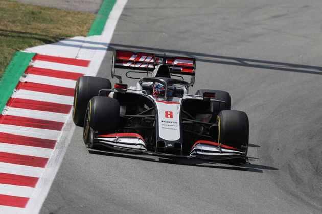Romain Grosjean ficou apenas na 19ª colocação