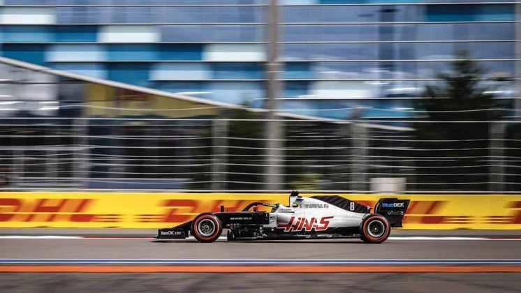 Romain Grosjean ficou com a 16ª posição no grid para o GP da Rússia