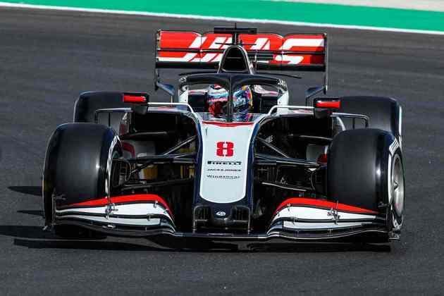 Romain Grosjean ficou com a 18ª posição nos primeiros treinos em Portimão