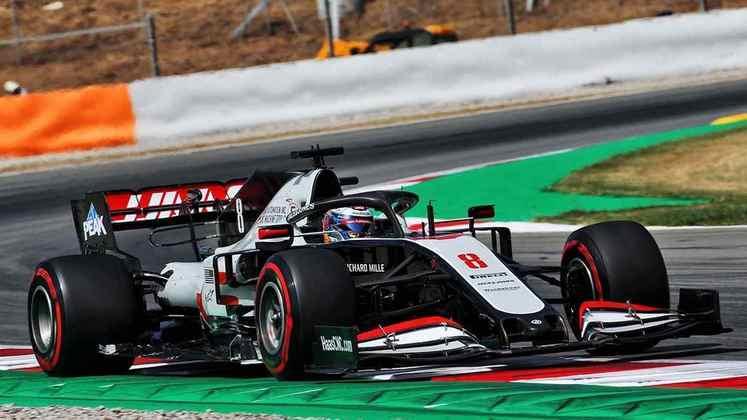 Romain Grosjean foi o nome que mais surpreendeu nesta sexta-feira em Barcelona