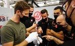 Romain Grosjean, Haas,
