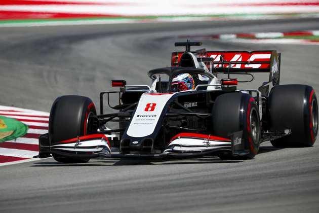 Romain Grosjean larga apenas em 17º no GP da Espanha de 2020