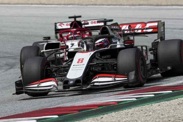 Romain Grosjean não cometeu erros e ficou em 13º