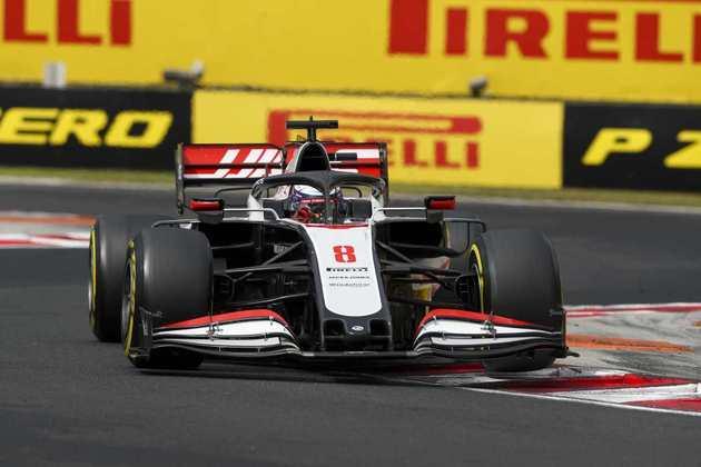 Romain Grosjean não manteve o ritmo e terminou em 16º