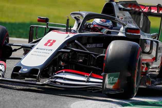 Romain Grosjean novamente ficou no Q1 e larga apenas em 16º