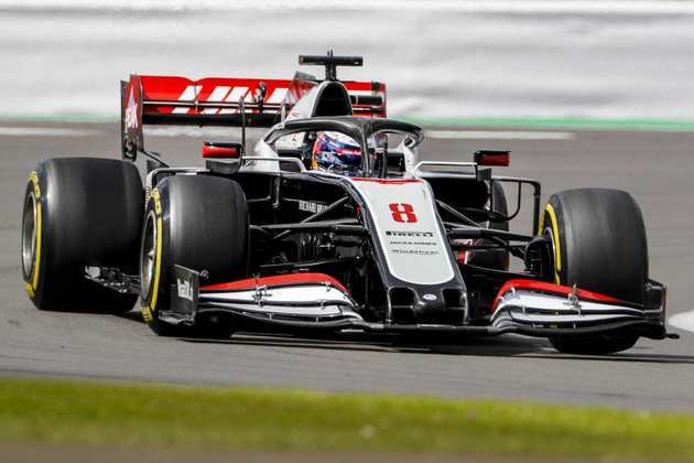 Romain Grosjean novamente ficou no Q1 e larga em 17º no GP da Inglaterra