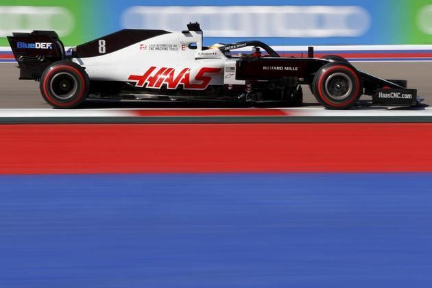 Romain Grosjean novamente não andou bem e ficou na última posição do TL2