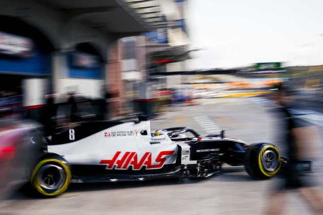 Romain Grosjean reclamou dos pneus ao rodar em Istambul.