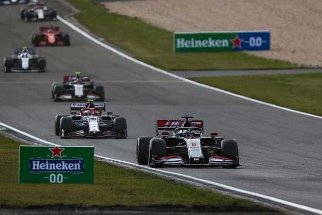 Romain Grosjean terminou nos pontos pela primeira vez em 2020