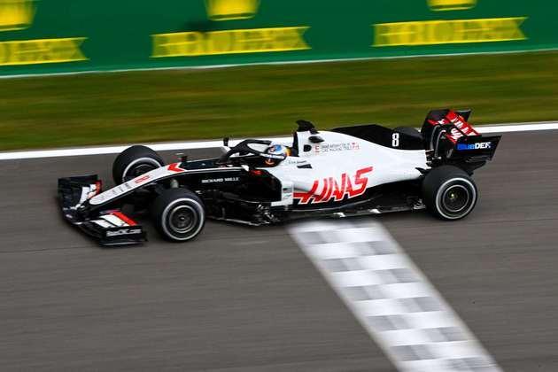 Romain Grosjean teve outra corrida difícil e ficou em 15º