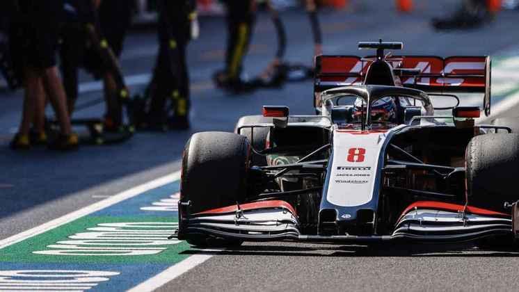 Romain Grosjean voltou a ficar no grid: 20º em Mugello