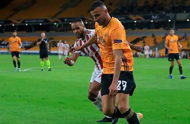 Romain Saïss - Wolverhampton - 31 anos - Zagueiro - Contrato até: 30/06/2021
