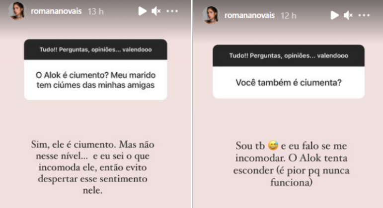 Romana Novais fala sobre relação com Alok