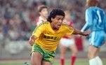 Principal nome do tetracampeonato mundial, em 1994, o atacante Romário foi medalha de prata na Olimpíada de Seul, em 1988. Na final, a seleção brasileira perdeu para a União Soviética