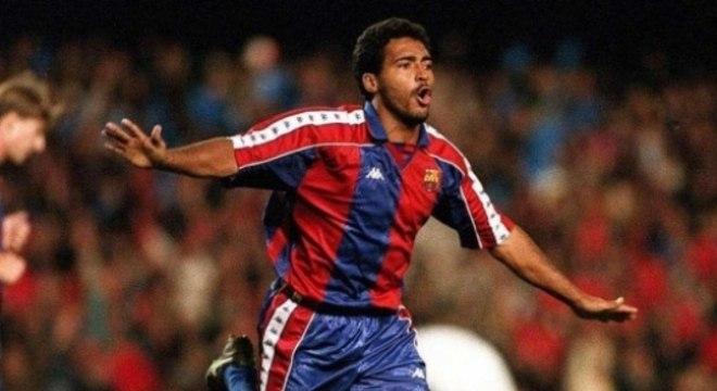 Romário foi campeão, artilheiro e melhor jogador do Espanhol