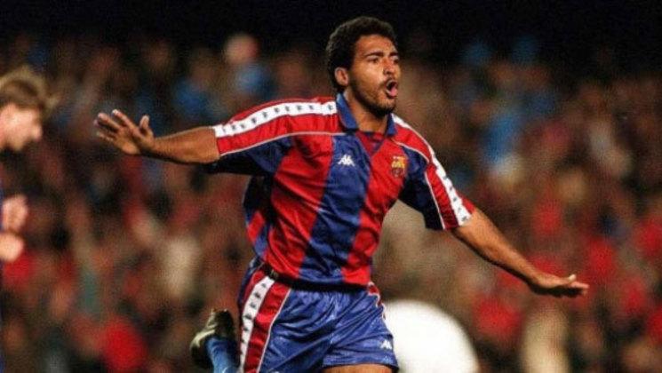 Romário: O Baixinho bateu na trave. Com a camisa do Barcelona, Romário chegou à final da edição 1993/1994, mas foi derrotado pelo Milan por 4 a 0.