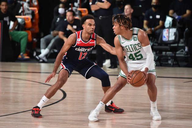 Romeo Langford (Boston Celtics) 4,0 - Um minuto em quadra, não teve tempo de produzir absolutamente nada