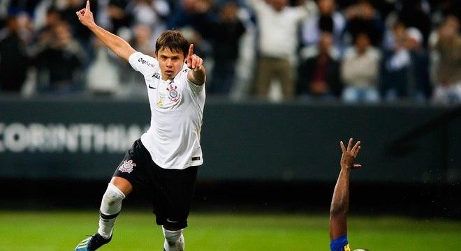 Romero está em ótima fase com a camisa do Corinthians