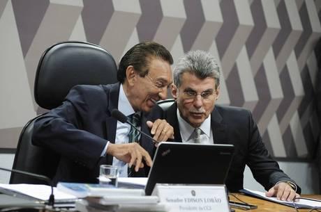 Lobão e Jucá (foto) receberão mais de R$ 20 mil por mês