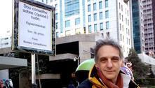 Roteirista dá conselhos de graça em parque e avenida de São Paulo