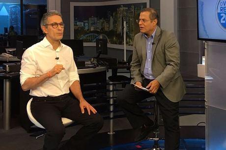 Zema foi entrevistado por Eduardo Costa