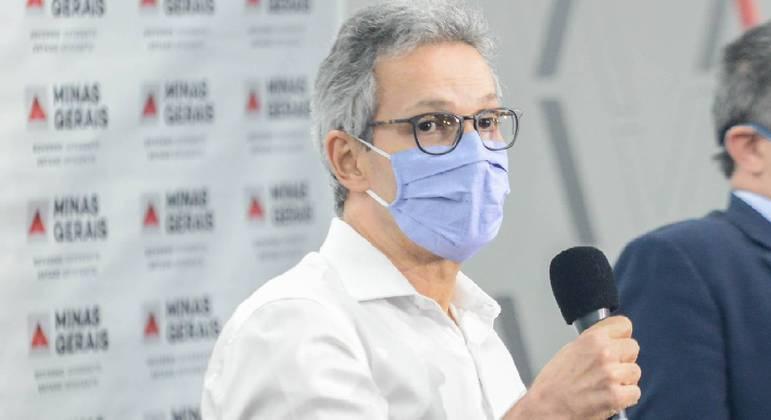 Romeu Zema anunciou vacinação para integrantes das forças de segurança