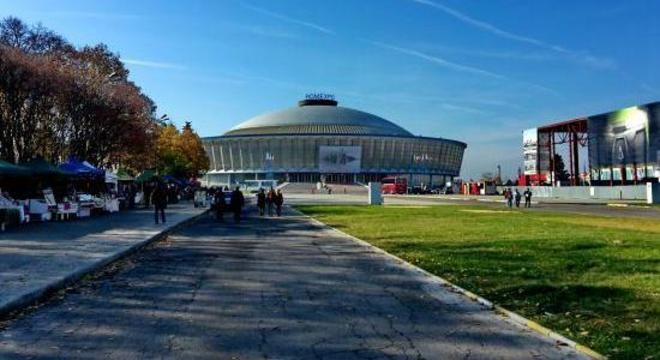 O Romexpo de Bucareste, na Romênia