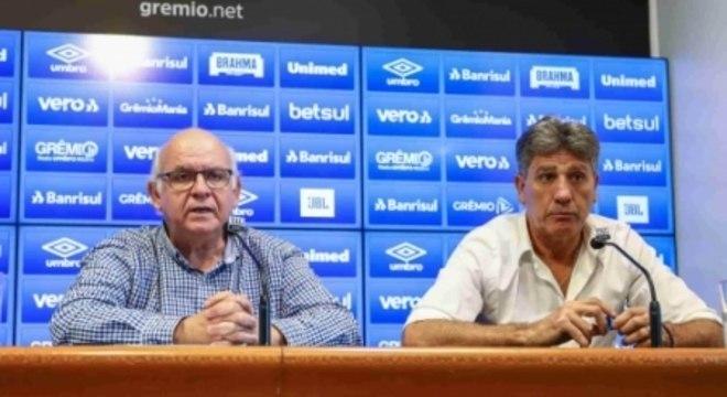 Romildo Bolzan e Renato Gaúcho