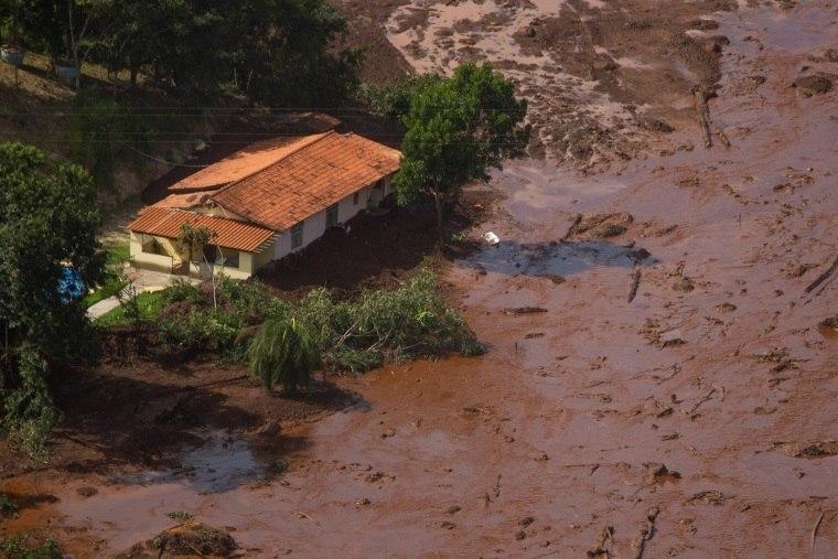 Mensagens De Rompimento: Rompimento De Barragem Em Brumadinho Mata Nove Pessoas