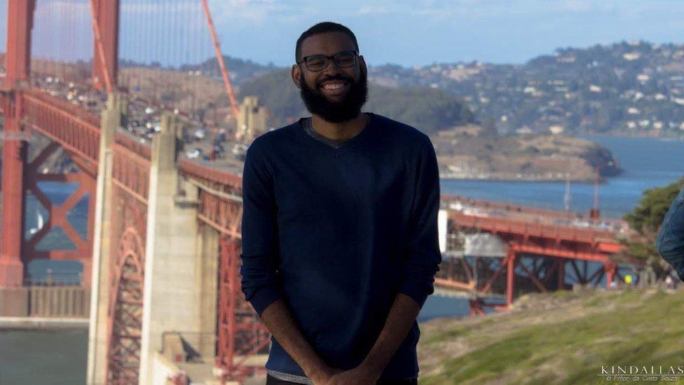 Kindallas Neris fez um doutorado sanduíche na University of California Davis, nos EUA
