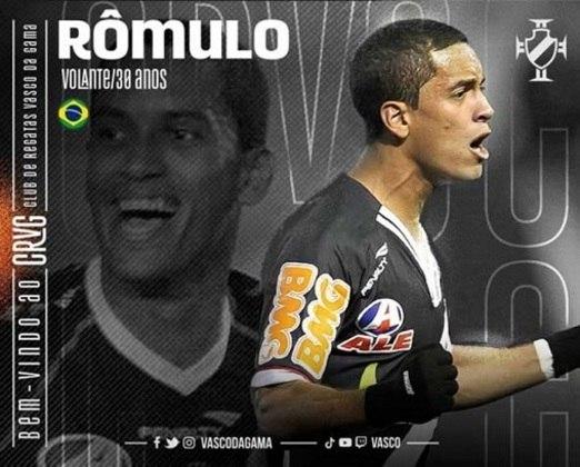 Romulo - O volante revelado na base vascaína voltou para casa e tentará ser titular como primeiro volante. Contra ele pesam as lesões.