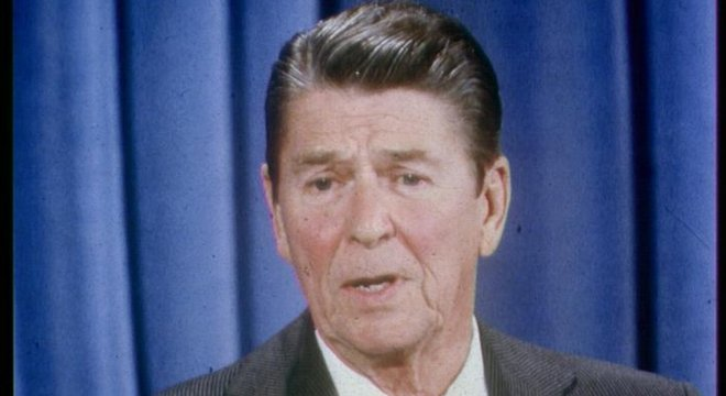 Sigilo de trechos das conversas de Reagan caiu após sua morte