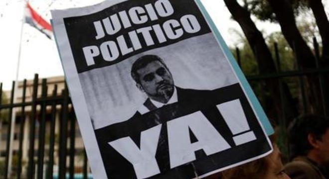 Benítez sobreviveu à articulação por impeachment por Itaipu