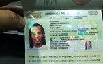Ronaldinho Gaúcho, passaporte,