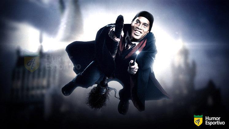 Ronaldinho Gaúcho seria o Bruxo na saga