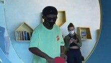 Ronadinho tira onda em Dubai e joga ping-pong com Sheiks; veja