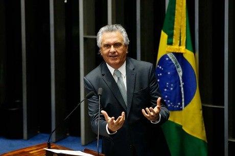 O governador de Goiás Ronaldo Caiado