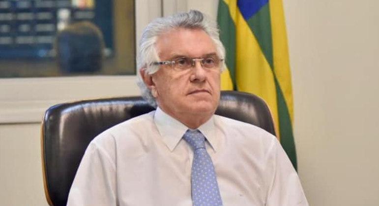 Ronaldo Caiado, governador de Goiás, é um dos que assinam a nota pública