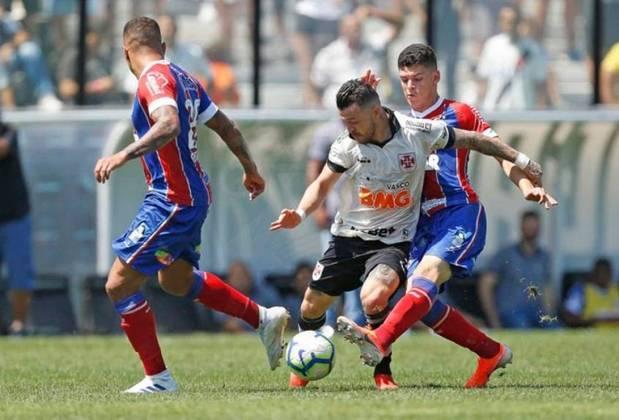 Ronaldo é outra cria do Ninho do Urubu que não deve voltar a defender o Flamengo. O volante está emprestado ao Bahia até dezembro, data final de seu contrato com o clube da Gávea.