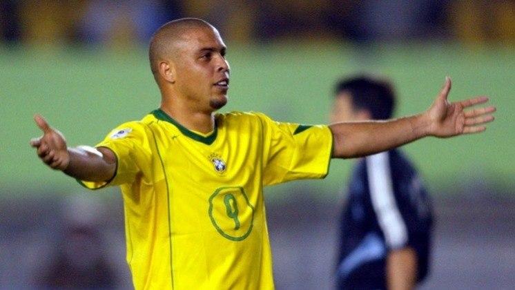 2ª colocação  - Ronaldo Fenômeno- 62 gols