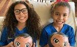 Ronaldo, filha Maria Alice, Maria Sophia,