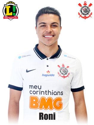 Roni – 6,0 – Começou o jogo fazendo bons desarmes, mas caiu de rendimento quando o Corinthians sofreu os gols, assim como todo elenco. Jogando mais adiantado, conversou bem com Mosquito pelo lado direito e participou dos raros momentos de perigo do Timão.