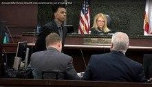 Acusado de homicídio interroga o próprio filho em audiência nos EUA